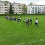 Damen-Camp in Frankfurt