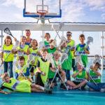 Lacrosse auf einem Kreuzfahrtschiff
