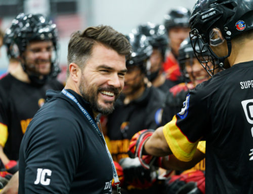 A message to all German lacrosse players (Jesse Cracknell, Headcoach Indoor Natio)