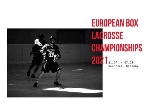 Helfer Gesucht! Boxlacrosse Europameisterschaft 2021 in Hannover