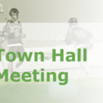 Town Hall Meetings zu Corona Maßnahmen