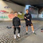 Lacrosse Beitrag im Deutschlandfunk - Mit Wall Ball aus der Krise