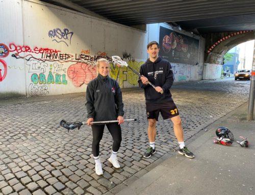 Lacrosse Beitrag im Deutschlandfunk – Mit Wall Ball aus der Krise