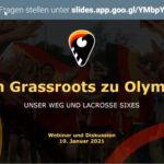 """Bericht zu Townhall Meeting """"Von Grassroots zu Olympia"""""""